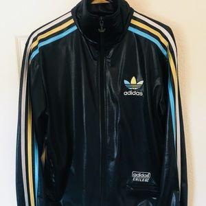 adidas chile 62 jacket black gold